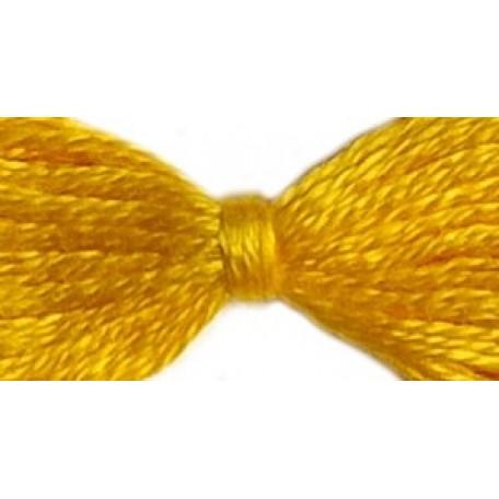 Нитки мулине 12х10м цв.0510 ярко-желтый С-Пб
