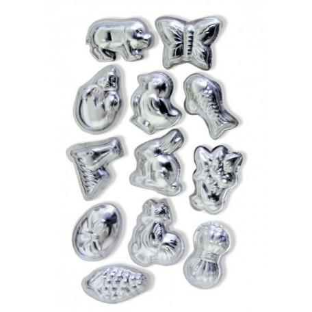 CWR Набор металлических форм арт. 04267 'Животные и узоры - А' уп.12 шт
