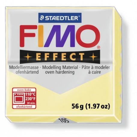 FIMO Effect полимерная глина, запекаемая в печке, уп. 56 гр. цвет: ваниль, арт.8020-105