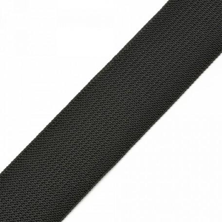 Резинка помочная арт.Ф-40мм цв.черный упак.25м