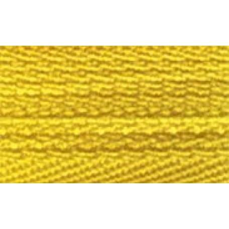 Молния пласт. потайная №3 20см цв.109 желтый