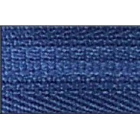 Молния пласт. потайная разъемная №3 1 замок, 20см цв.214 голубой