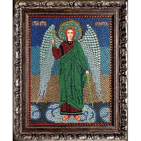 Набор 'ПРЕОБРАНА' арт.ПРБ-0057 для изготовления картины со стразами 'Ангел Хранитель' 28х22 см