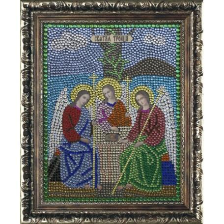 Набор 'ПРЕОБРАНА' арт.ПРБ-0063 для изготовления картины со стразами 'Троица'