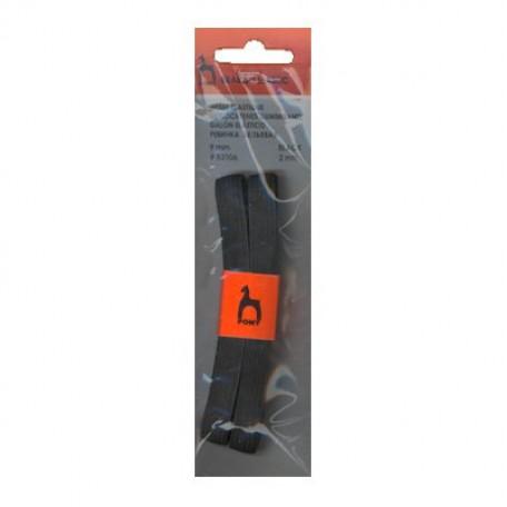 PN.53106 PONY Резинка бельевая шир. 9 мм черная уп.2 м