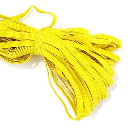 Резинка арт.К 8мм. цв.желтый уп.35м