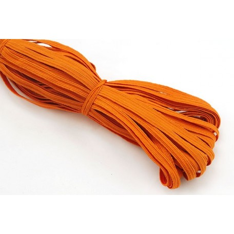 Резинка арт.К 8мм. цв.оранжевый уп.35м