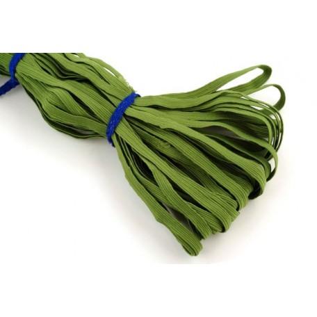 Резинка арт.К 8мм. цв.зеленый уп.35м
