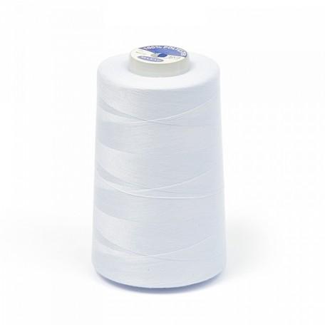 .Нитки 40/2 5000 ярд. цв.белый 100% п/э MAXAG-R