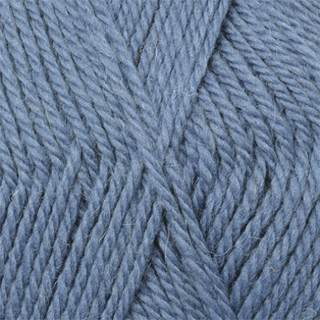 Пряжа для вязания КАМТ 'Аргентинская шерсть' (100% импортная п/т шерсть) 10х100гр/200м цв.022 джинса
