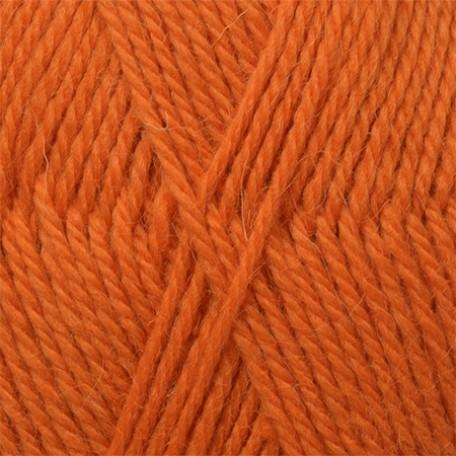 Пряжа для вязания КАМТ 'Аргентинская шерсть' (100% импортная п/т шерсть) 10х100гр/200м цв.035 оранжевый