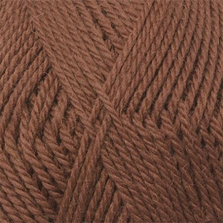 Пряжа для вязания КАМТ 'Аргентинская шерсть' (100% импортная п/т шерсть) 10х100гр/200м цв.121 коричневый