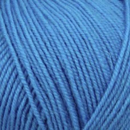 Пряжа для вязания ПЕХ 'Австралийский меринос' (95% мериносовая шерсть, 5% акрил в/о) 5х100гр/400м цв.045 т.бирюза