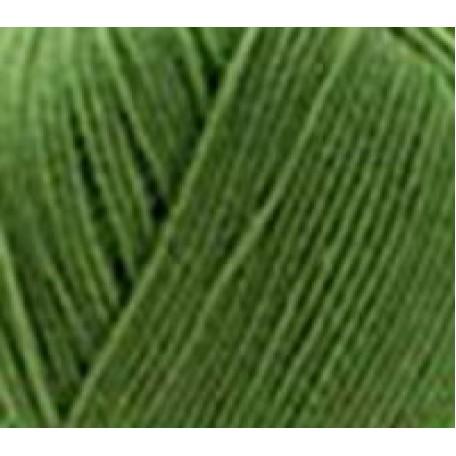 Пряжа для вязания ПЕХ 'Австралийский меринос' (95% мериносовая шерсть, 5% акрил в/о) 5х100гр/400м цв.252 зеленый горошек