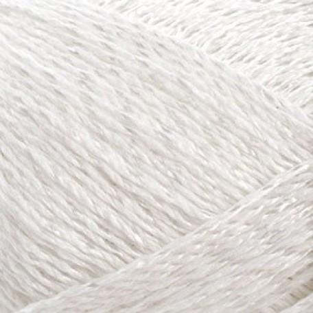 Нитки для вязания 'Азалия' (30%хлопок+70%вискоза) 4х50гр/150м цв.0101/001 белый С-Пб