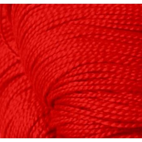 Нитки для вязания 'Ирис' (100%хлопок) 20х25гр/150м цв.0906 красный мак, С-Пб