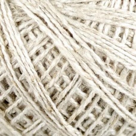 Нитки для вязания 'Виола' (30%хлопок+30%лен+40%вискоза) 36х25гр/150м цв.3600, натуральный С-Пб