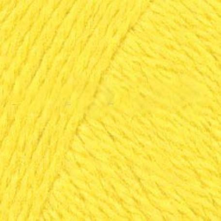 Пряжа для вязания ТРО 'Алиса' (50%шерсть+50%вискоза) 10х100гр/300м цв.0120 холодный желтый