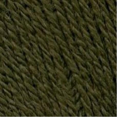 Пряжа для вязания ТРО 'Алиса' (50%шерсть+50%вискоза) 10х100гр/300м цв.0540 оливковый