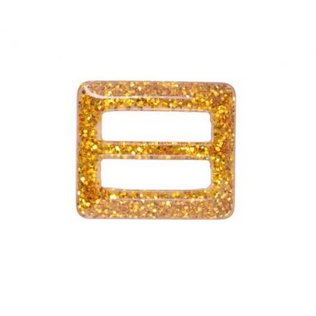 Пряжка пластмассовая арт.TBY- D1606-2 d=37мм прямоугольник цв.золото