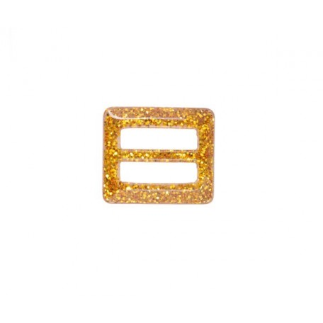 Пряжка пластмассовая арт.TBY- D1606-3 d=25мм прямоугольник цв.золото