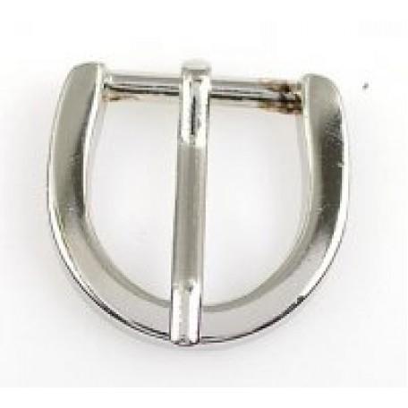 Пряжка металлическая арт.TBY- XHD 20мм цв.никель