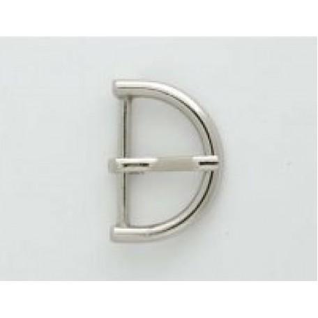 Пряжка металлическая арт.TBY- A936F d=25мм цв. никель