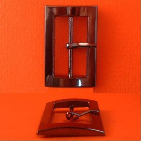 Пряжка металлическая арт.ТД.ГН13707.25.ЧН 25мм цв.черный никель