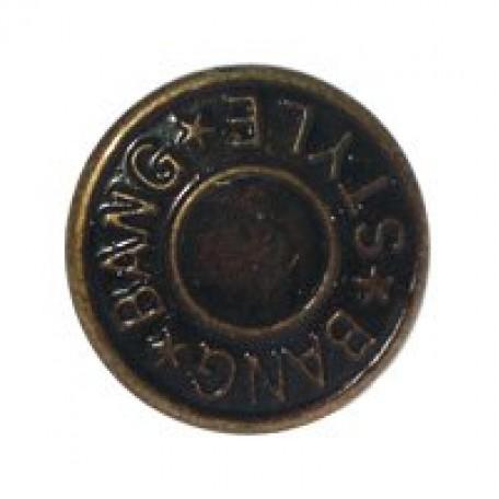 Пуговицы джинсовые арт.TB 0300-8ah с рис. 17мм уп.10шт в блистере