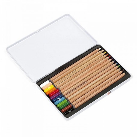 Набор цветных карандашей Bruynzeel Expression Colour арт.МРМ.7705m12 12цв в металл. кор.