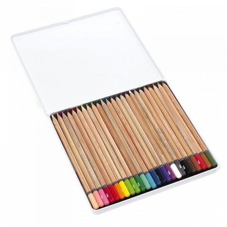 Набор цветных карандашей Bruynzeel Expression Colour арт.МРМ.7705m24 24цв в металл. кор.