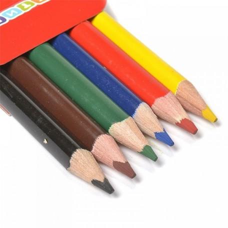 Набор трехгранных карандашей арт.НП.3741165 'Цветик' 6 цветов
