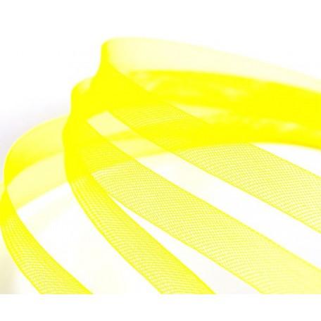 Регилин мягкий арт. MF-15 шир.15мм цв.A12 желтый ( рул. 23м )