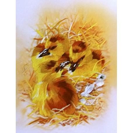 Набор для вышивания 'РИСУЕМ ИГЛОЙ' арт. L-0002 Мини Люкс 'Рождение новой жизни' (20х25 см)