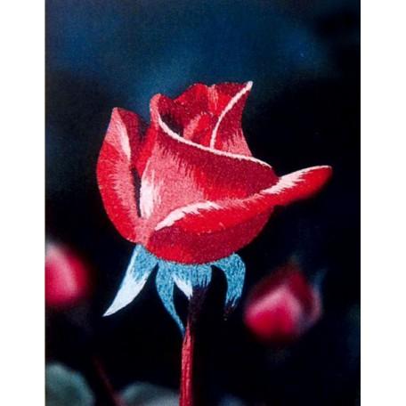 Набор для вышивания 'РИСУЕМ ИГЛОЙ' арт. ML-0005 Мини Люкс 'Розовая прелюдия' (10х15 см)