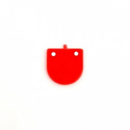 Фурнитура для игрушек 'Язык средний' 1,6х1,8