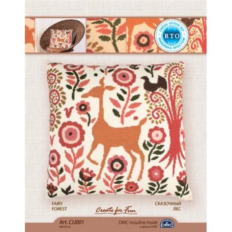 Набор для вышивания арт.РТ-CU001 'Сказочный лес' 44x44 см