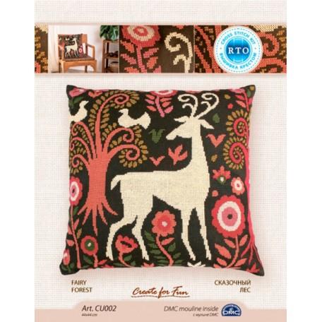 Набор для вышивания арт.РТ-CU002 'Сказочный лес' 44x44 см