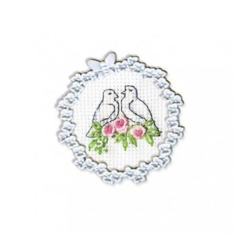 Набор для вышивания арт.РТ-FA003 4х4 см