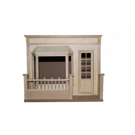 Сборная модель из МДФ Румбокс 'Французское кафе' арт.AM0103003 64х30х36 см недекорированный