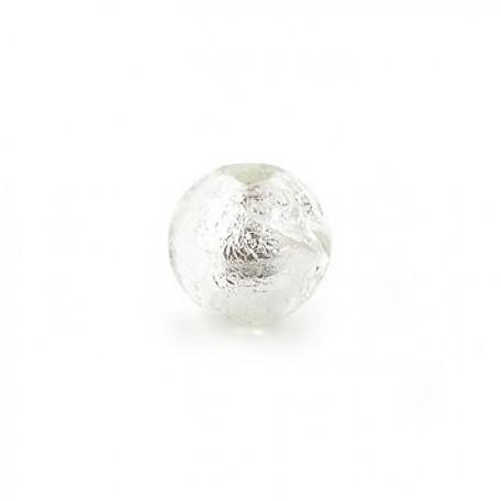 Бусины стеклянные TESОRO арт.TS-GB11 цв. 1 уп.3шт диам.10 мм