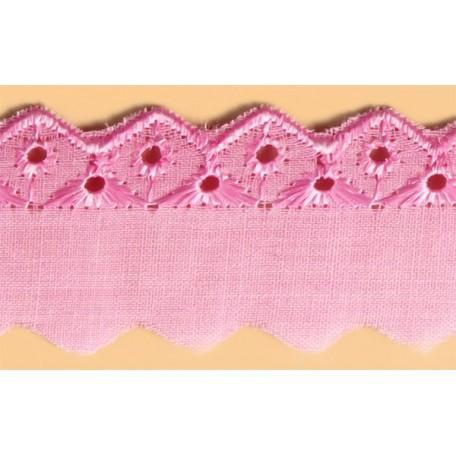 Шитье арт.ТСВ-1018 шир.2,5см цв.133 розовый 100% п/э