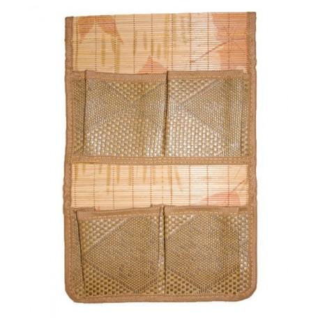 Органайзер из бамбука с карманами 2*2 арт.SZB-529 цв. 3 размер 38*25мм