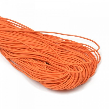 Резинка шляпная (шнур круглый) цв.154 оранжевый 2,2мм рул.50м