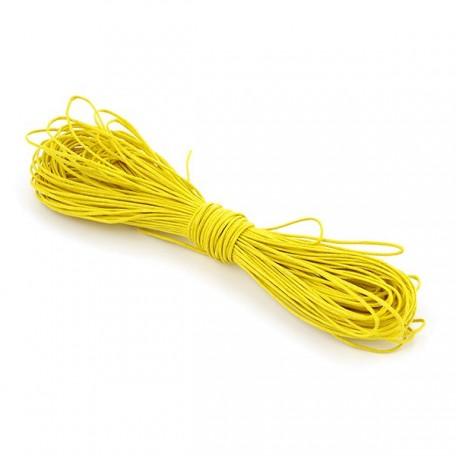 Шнур вощеный 1,2мм арт.С054 цв.лимонный уп.20м