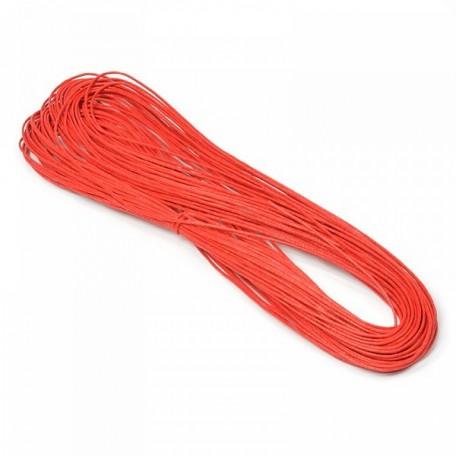 Шнур вощеный 1,2мм арт.С251-А цв.красный уп.20м