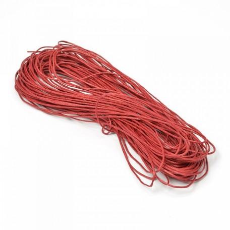 Шнур вощеный 1,2мм арт.С251-В цв.вишневый уп.20м
