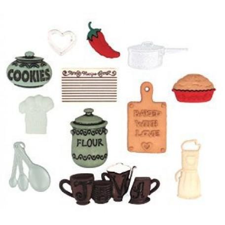 Декоративные элементы арт.0338 На кухне,