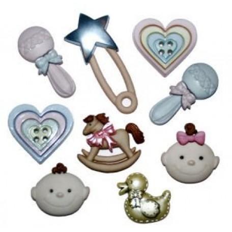 Декоративные элементы арт.0640 Для малышей