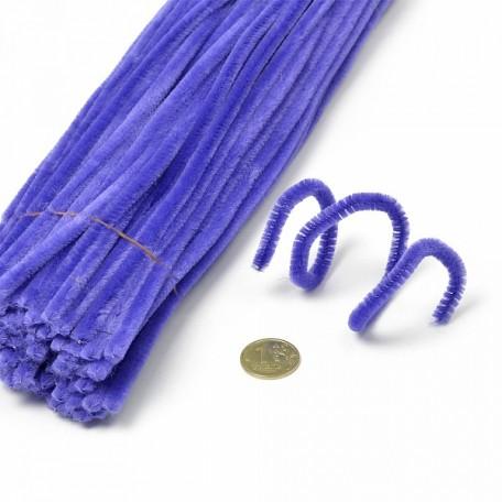 Скрутки бархатные 0,5х30см цв. А016 фиолетовый уп.100шт